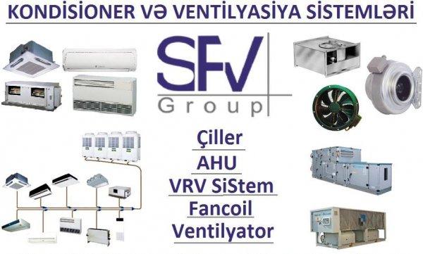 Kondisioner və Ventilyasiya sistemləri